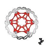 Frein à Disque flottant vélo 160mm rouge freinage bicyclette MTB 6 Boulons SHIMANO AVID