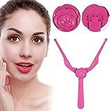 5 piezas Ceja de Regla Maquillaje DIY Stencil Para Cejas Herramienta de medición de cejas para las mujeres