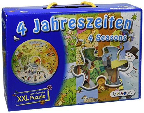 Hape 11011 - Puzzle Didattico 4 Stagioni