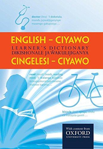 English-Ciyawo Learners Dictionary (English Edition)