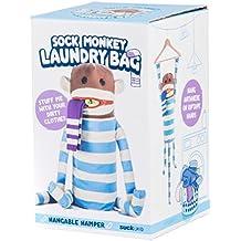 Suck UK SK BAGMONKEY1 - Bolsa de lavandería mono de calcetines