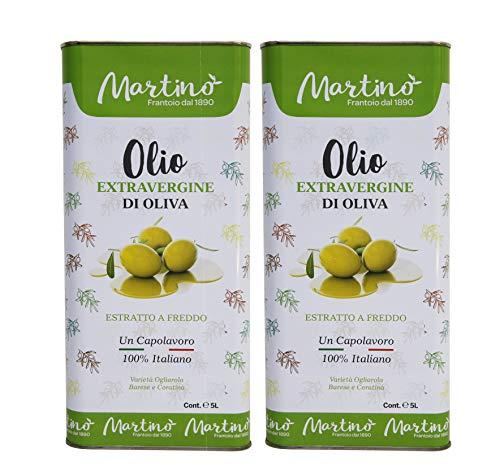 10 L Extra Natives Olivenöl 100{42eb007b243f865137d768550165331fb600457897ed2b49181bd4ace52c16b6} Italien (2x 5L Kanister)