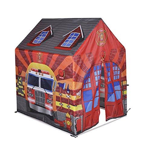 feuerwehrzelt Knorrtoys 55436 - Hauszelt Feuerwehr