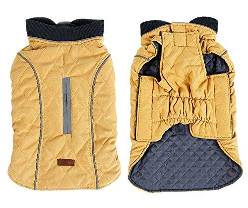 Y-BOA Veste Jacket Pet Chien Dog Épais Manteau Snowsuit Vêtement Polaire Petit Moyen Grand Chaude
