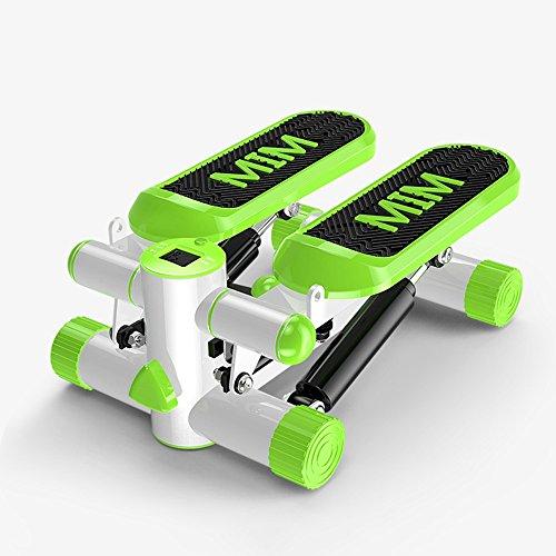 XXSS Sportausrüstung, Multifunktionsgewicht-Verlust-Maschinen-kleine Stepper-Ausgangsumweltschutz- / orange Eignungs-Ausrüstungs-Mode, die Pedal-Maschine wandert (Color : Green)
