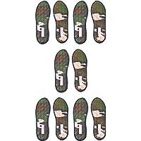 """Zimtsohlen Nawemo """"Camouflage"""" (5er Pack), Größe 45 preisvergleich bei billige-tabletten.eu"""
