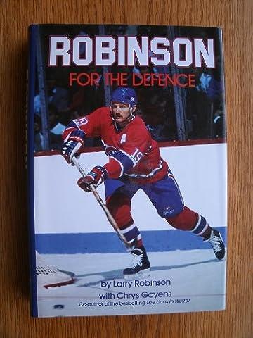 Robinson for the Defense