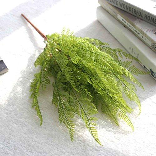 Aiming Simulation Farn Künstliches Gras Blätter Pflanze für Zuhause Hochzeit Dekoration grün