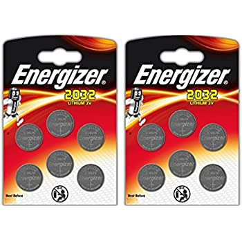 51c8761cb 12 x Energizer CR2032 Coin Lithium 3 V Battery Batteries for Watches  antorchas Keys