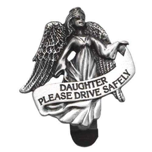 Cathedral Art KVC141DTR Auto Visor Clip, Daughter Drive Safely, 2-3/8-Inch by Cathedral Art