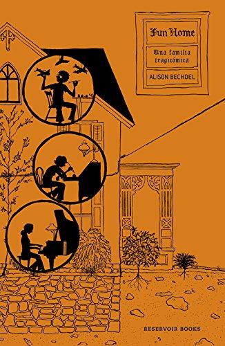 Portada del libro Fun home: Una familia tragicómica (RESERVOIR GRÁFICA)