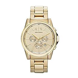 a|x Armani Exchange goldfarbenes Armband Rankinis Laikrodis