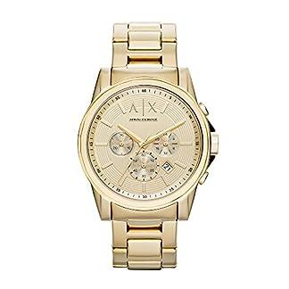 Armani Exchange Outerbanks Analog Gold Dial Men's Watch – AX2099