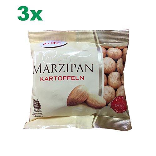 Zentis Marzipan Kartoffeln 3er Set (3x100g Beutel)