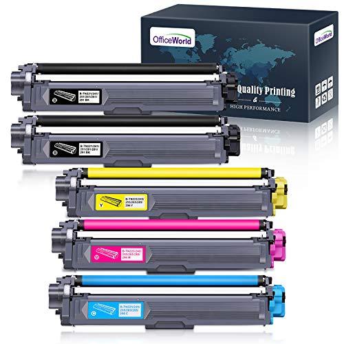 Offiveworld Kompatibel Toner Ersatz für Brother TN-241 TN-245 TN-242 TN-246 für Brother MFC-9332CDW DCP-9022CDW HL-3142CW MFC-9142CDN HL-3152CDW MFC-9140CDN MFC-9342CDW DCP-9017CDW 9020CDW HL-3140CW