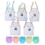 Sathiyas Born Baby Unisex White 100% cot...