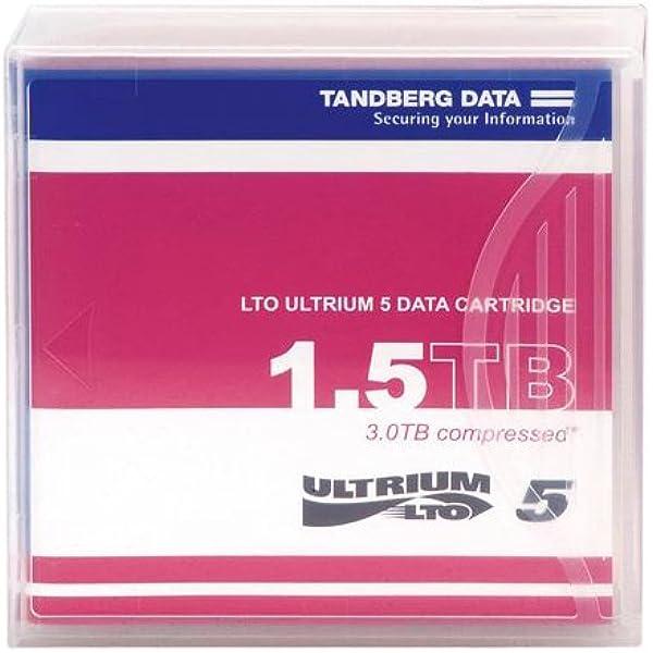 Tandberg Lto5 Cartridge Media 1 5 3tb Computer Zubehör