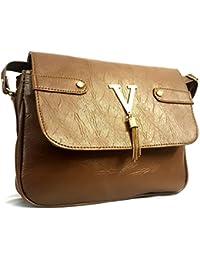 Divine Diva Brown Sling Bag (Brown - H099)
