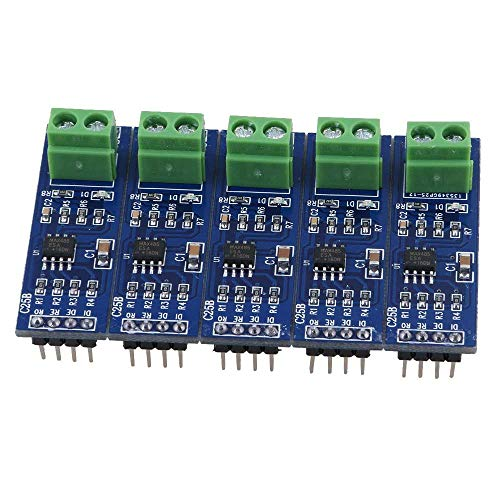 iHaospace 5Pcs 5V MAX485 / RS485 Module TTL to RS-485 MCU Development Board  for Arduino, Raspberry Pi