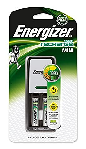 Energizer Audio Ladegerät inkl. NiMH Akku AAA Micro 700 mAh 2er Pack