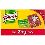 Knorr - Pastillas de caldo de carne - Caja de 8 cubos - 80 g - Pack de 8 unidades