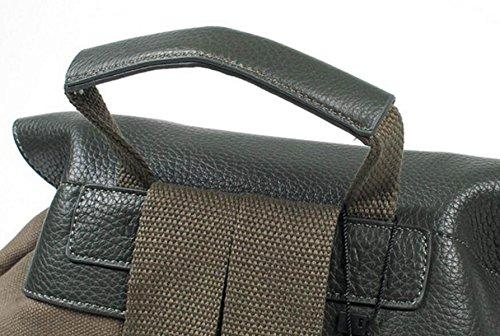 Fabelhaft Männliche Und Weibliche Studenten Freizeit Reisetasche Mode Leinwand Rucksack Navy