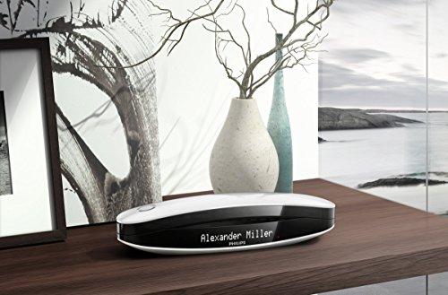 Philips M6651WB Luceo schnurloses Telefon mit Anrufbeantworter (4,6 cm (1,8 Zoll) Display, HQ-Sound) schwarz/weiß - 11