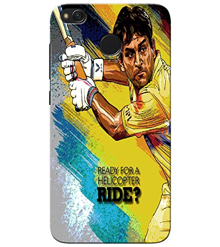 GOSMARTKART REDMI 4 HIGH QUALITY DHONI(CHENNAI SUPER KINGS) PRINTED BACK COVER