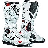Sidi Crossfire 2weiß/weiß Motorrad Enduro MX Stiefel + kostenloser Socken New