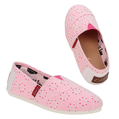 Filles 0015–27, chaussures basses Rose - Rose