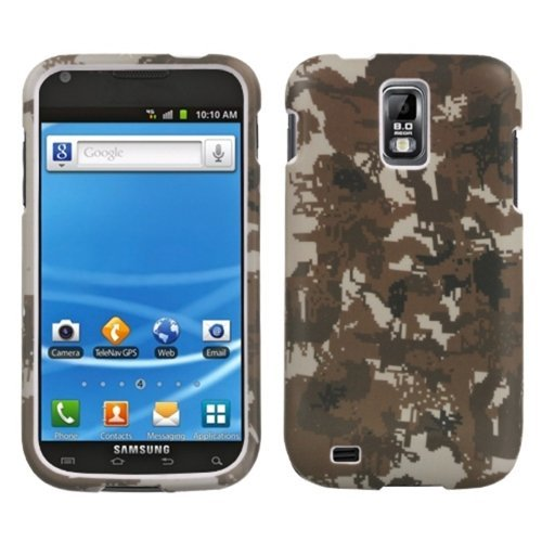 MyBat Lizzo Schutzhülle für Samsung Galaxy S II, Digital Camo/Yellow -