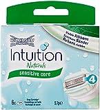 Wilkinson Sword Intuition Naturals Razor Blade Refills - Pack of 6