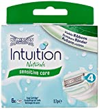 Wilkinson Sword Intuition Naturals Razor Blade Refills – Pack of 6