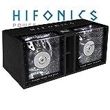 Hifonics ZRX12 Dual - 2X 30 cm (12') Bandpass Subwoofer Gehäuse, Dual-Bandpass-System