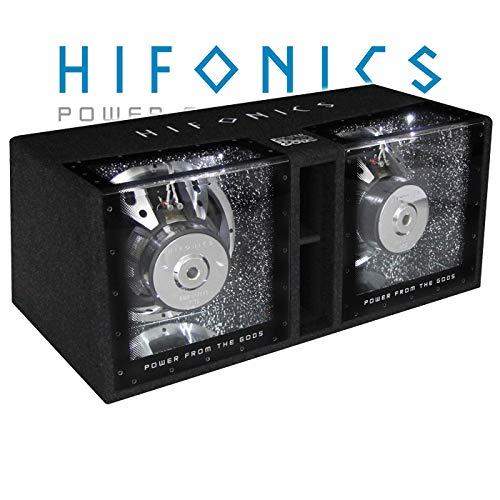 Hifonics ZRX12 Dual - 2X 30 cm (12') Bandpass Subwoofer Gehäuse, Dual-Bandpass-System Dual-bandpass-system
