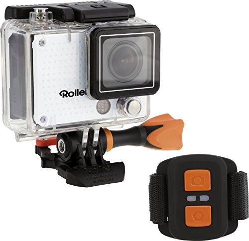 Rollei 420 - Actioncam 12 Megapixel Wifi Actioncam-Camcorder mit 4K/2K Videoauflösung Sowie Full HD Videofunktion weiß