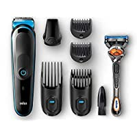 Braun 7-in-1 All-in-one trimmer MGK5045, Beard Trimmer & Hair Clipper, Detail Trimmer