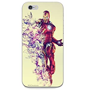 MiiCreations 3D Printed Back Cover for Apple Iphone 6,Iron Man