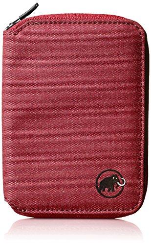 Mammut Zip Melange Cartera, Unisex Adultos, Rojo (Dark Lava), 5x10x15 cm (W x H x L)