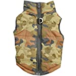 Doggie Style Store Green Camouflage Camo Dog Pet Puppy Puffer Warm Winter Padded Quilted Vest Coat Jacket Size XS 5