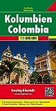Colombia, mapa plegado de carreteras. Escala 1:1.000.000 Freytag & Berndt (Auto karte)