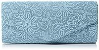 SWANKYSWANS Womens Julia Lace Sequin Clutch Bag Mint Clutch Mint