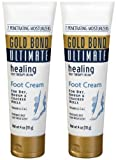 Gold Bond Ultimate Healing Foot Therapy Cream, 4 oz, 2 pk by Gold Bond by Gold Bond