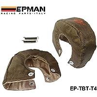 valoxin (TM) epman Racing–T4titanio Turbo coperta calore Shield Barriera 1.800gradi Temperatura d' esercizio ep-tbt-t4