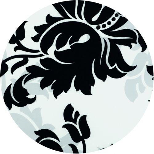 Werzalit Tischplatte, Dekor glamour shadow Größe rund 70 cm