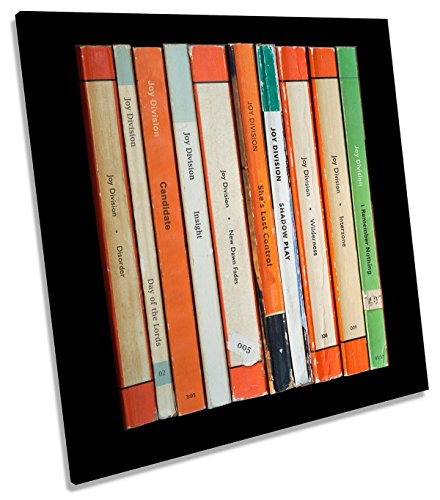 Joy Division Unknown Pleasures auf Leinwand, quadratisch Wand Kunstdruck Bild, 60cm wide x 60cm high (Kunstdrucke Joy Division)