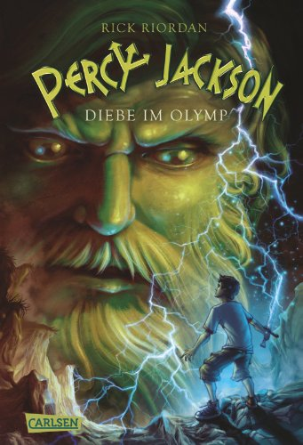 Buchseite und Rezensionen zu 'Percy Jackson, Band 1: Percy Jackson - Diebe im Olymp' von Rick Riordan