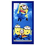 Belomoda Minion Theme Blended Cotton Kid's Cartoon Bath Towel
