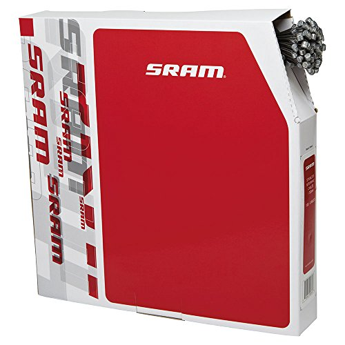 SRAM 103002 PACK DE 100 CABLES FRENO MTB  ACERO INOXIDABLE  MULTICOLOR  M