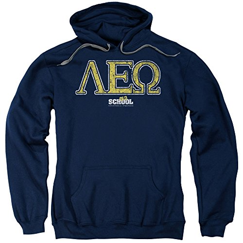 old-school-college-fraternity-comedy-movie-leo-adult-pull-over-hoodie